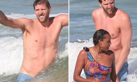 Dirk Nowitzki and Wife Hit up the Beach In Tulum