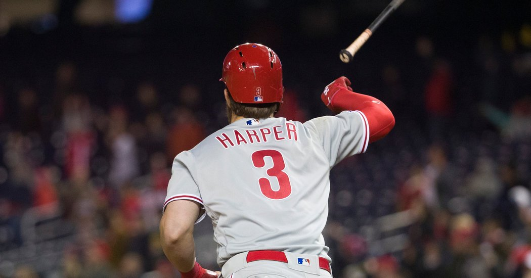Astros Fan Literally Cries About Bryce Harper's Bat Flip