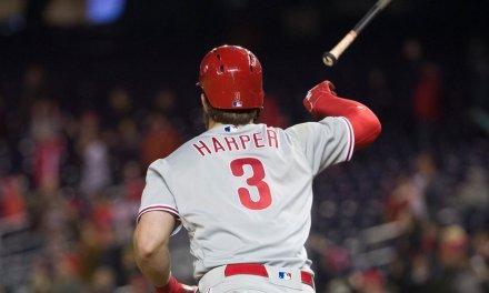 Astros Fan Literally Cries About Bryce Harper's Bat Flip