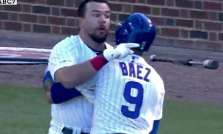 Kyle Schwarber Gets Ejected From a Game That Was Already Over For Going After an Umpire
