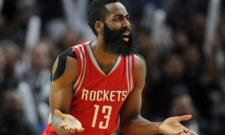 Controversial No-Call on a James Harden Three Pointer Likely Cost the Rockets Game 1