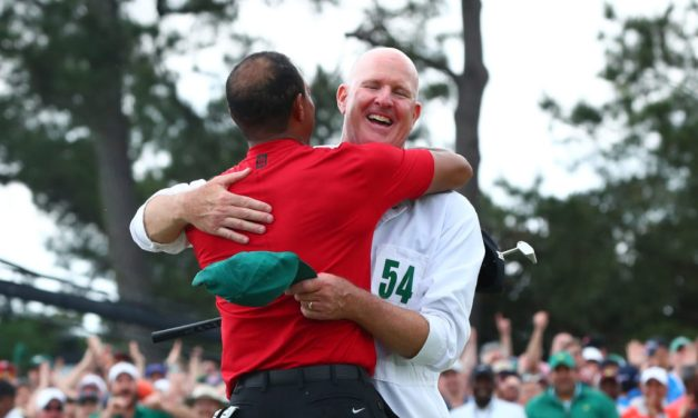 Tiger's Caddy Shares the Text Tiger Sent Him following Masters Victory