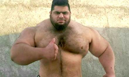 The 'Iranian Hulk' Teases His MMA Debut Before 2020