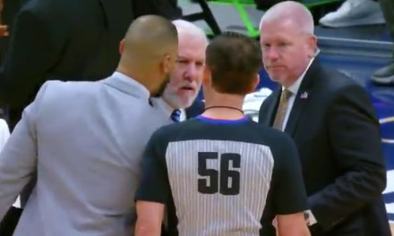 Gregg Popovich Was Tossed Less Than Two Minutes Into Spurs and Nuggets Game