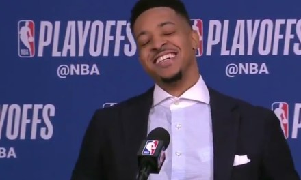 Blazers Dedicated Playoff Win to Woman Who Chirped C.J. McCollum for Not Winning a Playoff Game