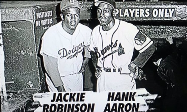 ESPN Asked Hank Aaron Where a Picture With Jackie Robinson He Wasn't In Was Taken