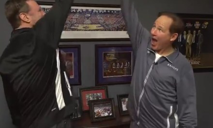 Les Miles and Bill Self Did the Most Awkward Step Brothers Parody of All-Time