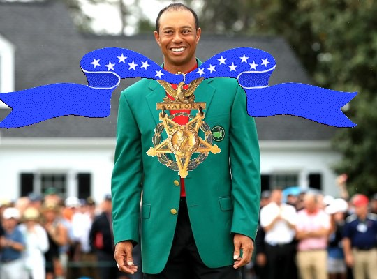 Tiger Woods Is Getting the Presidential Medal of Freedom