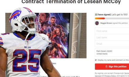 A Petition Has Been Started to Terminate LeSean McCoy's Contract Because He Tweeted out 'Avengers: Endgame' Spoilers