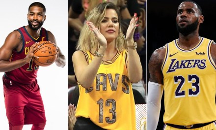 LeBron Responds to Tristan Thompson's Heartfelt Birthday Note For Daughter True