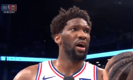 """Joel Embiid on Jared Dudley """"He's a Nobody"""""""