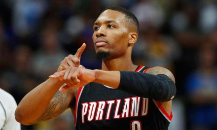 Damian Lillard Responds to NBA Referee Account After Receiving a Warning for Flopping