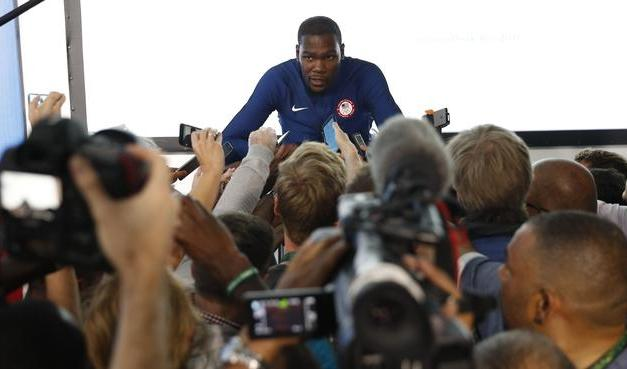 Kevin Durant Takes More Shots at the Media