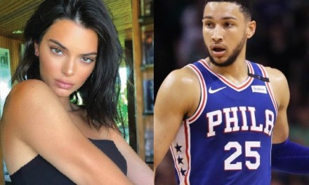 Kendall Jenner Was Spotted Getting Cozy with Another Guy During Sixers Game 3