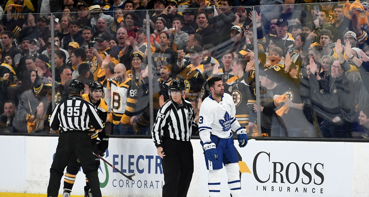 Nazem Kadri Has Been Suspended for the Remainder of the First Round of the Playoffs