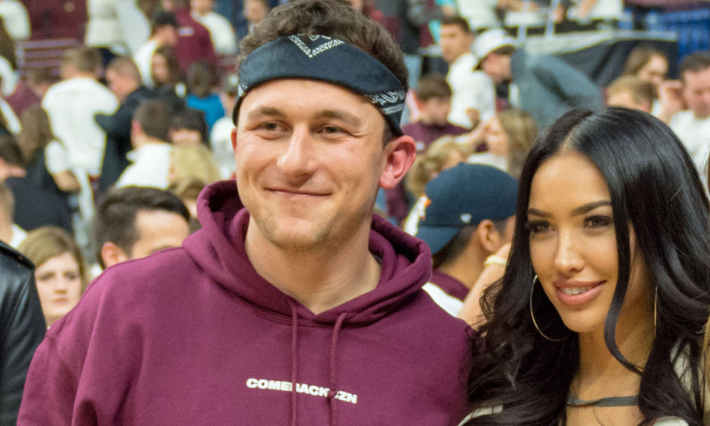 It Looks Like Johnny Manziel's Wife Has Moved On