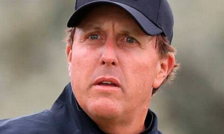 Phil Mickelson Was Caught Napping in the Locker Room at Wells Fargo Championship