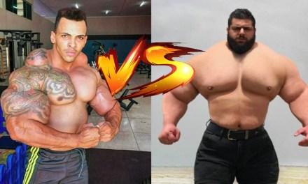 Brazilian 'Hulk' Issues Challenge to Iranian 'Hulk' Ahead of MMA Debut