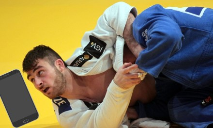 Judo Participant Disqualified for Dropping Cellphone During Match