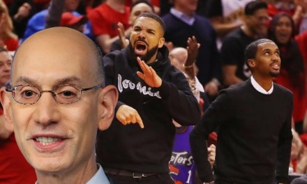 NBA Commissioner Speaks on Raptors Superfan Drake After Having a Talk With Him and His Manager