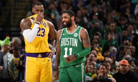 LeBron Likes an Instagram Post with Kyrie Irving in a Lakers Uniform after Being Spotted Out with Him in LA