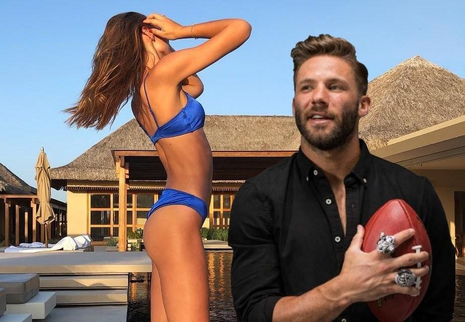Julian Edelman Spotted Hooking up with Brazilian Model Fernanda Liz