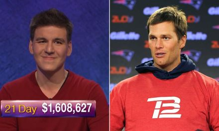 Tom Brady Has Been Twitter Flirting with 'Jeopardy' Champ James Holzhauer