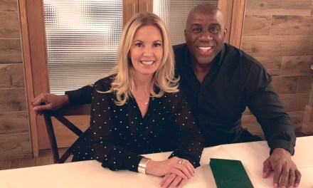 Magic Johnson and Jeanie Buss Had Dinner Last Night