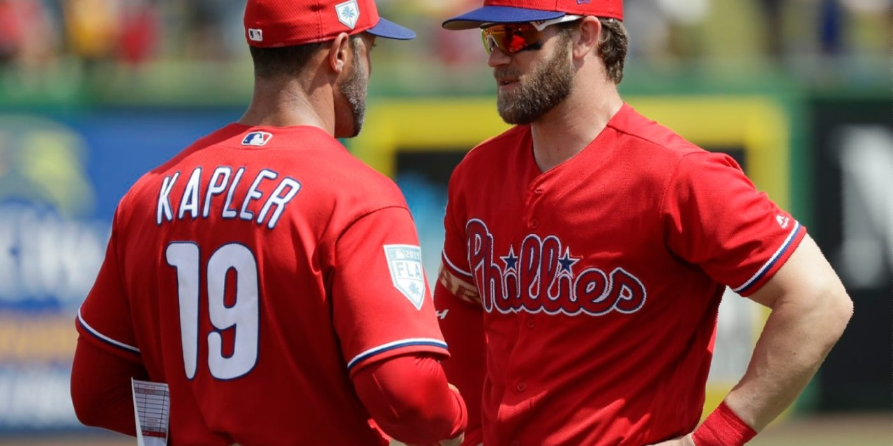 Gabe Kapler Doesn't Have Any Problem with Phillies Fans Booing Bryce Harper