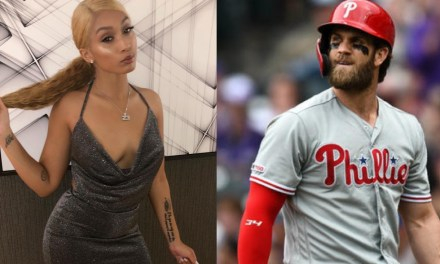 Woman Tries to Slide into Bryce Harper's DMs, Accidentally Slides into His Wife's