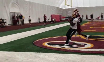 Dwayne Haskins is Throwing Dimes all Over the Redskins Practice Field