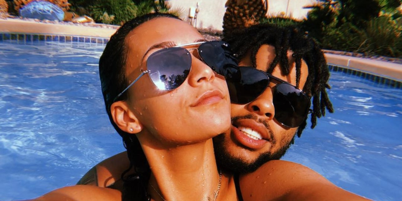 D'Angelo Russell and His Girlfriend Gabby Engersgaard Appear to Have Called it Quits