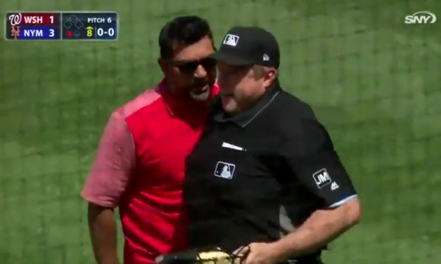 Dave Martinez Pulled Out Some Old School Manager Moves after Getting Ejected