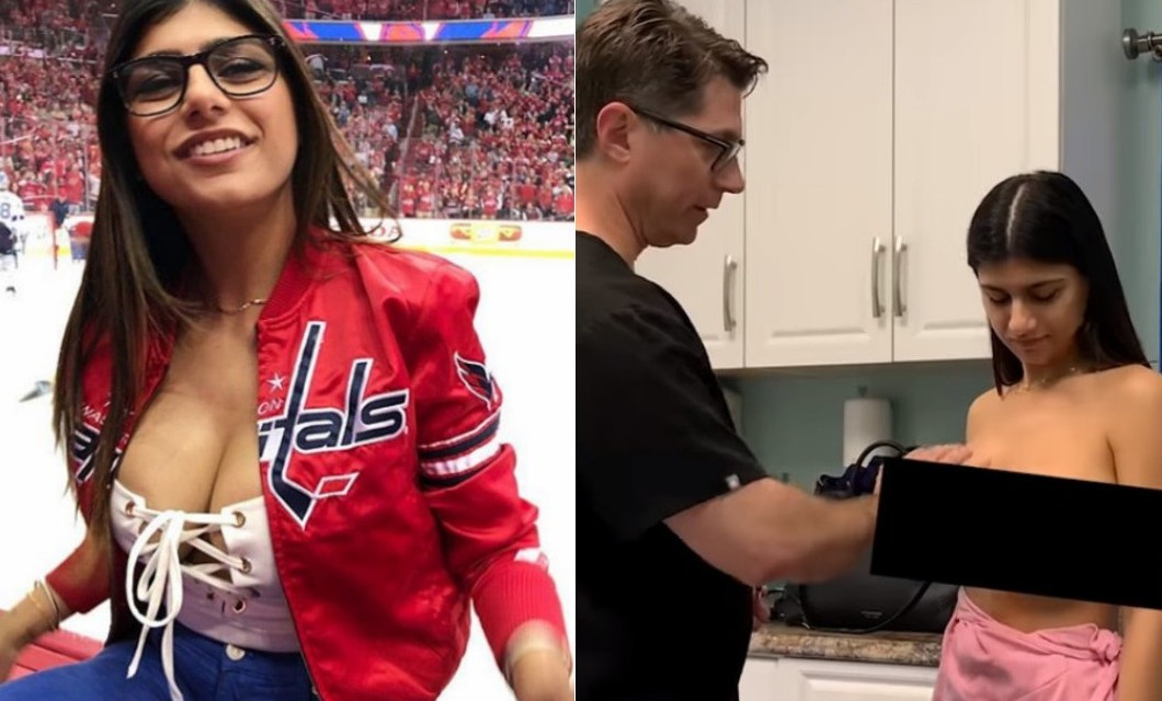 Ex Porn Star Mia Khalifa Shares Video from Breast Surgery After Being Nailed by Hockey Puck