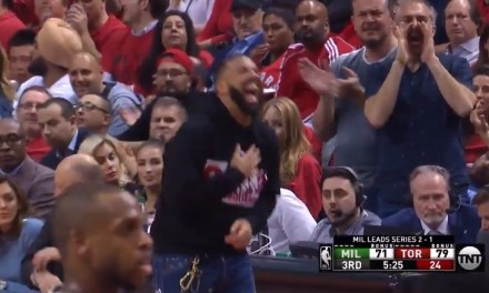 Drake Stayed Clowning Giannis Antetokounmpo at the Charity Stripe