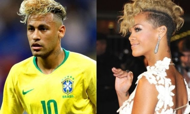 Neymar Ditched Soccer Awards To Spend Time With Rihanna