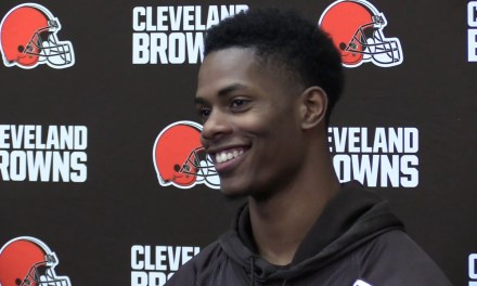 Browns Told Rookie to Pump the Brakes on Super Bowl Talk