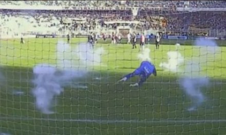 Watch Bolivian Soccer Goalie Daniel Vaca Attacked With Firecrackers During Game