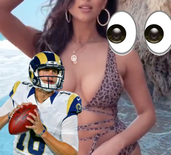 Jared Goff Likes What He Sees in Girlfriend Christen Harper's Latest Post