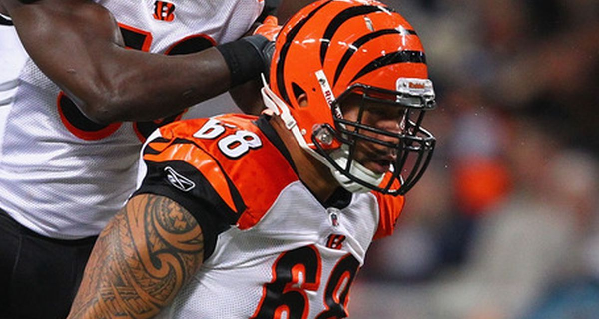 Former Bengals DE Jonathan Fanene Charged with Eight Felonies after Allegedly Assaulting His Wife and Sister with a Pipe