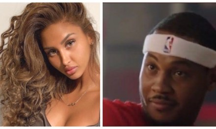 Woman Who Carmelo Was Caught On Yacht With Has Been Identified And She's Actually Single