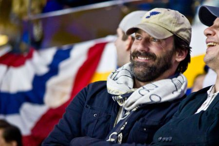 Is Jon Hamm to Blame for the Blues Game 6 Loss?