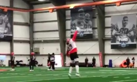 Odell Beckham Jr. is Making One Handed Catches at Browns Camp
