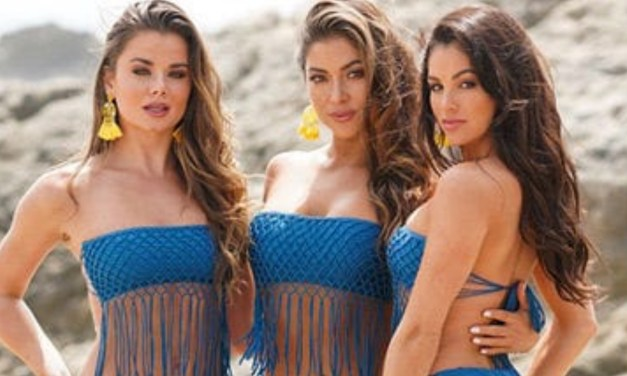 Arianny Celeste and Friends Hit Up the Beach in Matching Bikinis