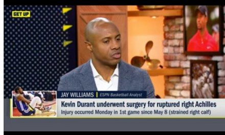 Jay Williams Claims Warriors Medical Staff Misdiagnosed Kevin Durant's Injury
