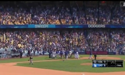 Dodgers Rookie Hit a Walk-Off Home Run for the Third Straight Game