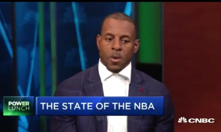 "Andre Iguodala on Kevin Durant's Future ""Nobody's Going to the Knicks"""