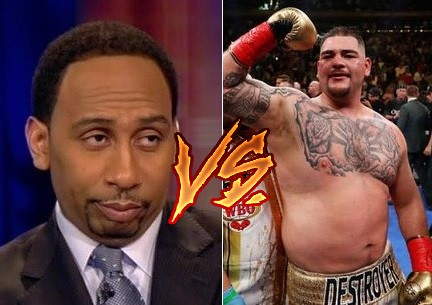 Andy Ruiz Jr. Fires Back at Stephen A. Smith After Butterbean Comment
