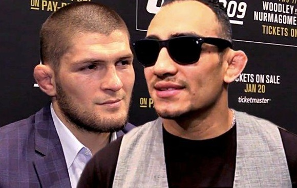 Tony Ferguson Takes a Shot and Issues a Challenge to Khabib Following UFC 238 Win
