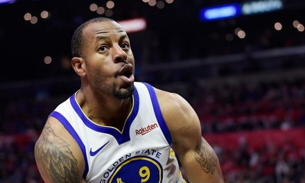 Steph Curry Says Raptors Disrespected Andre Iguodala on Game Icing shot